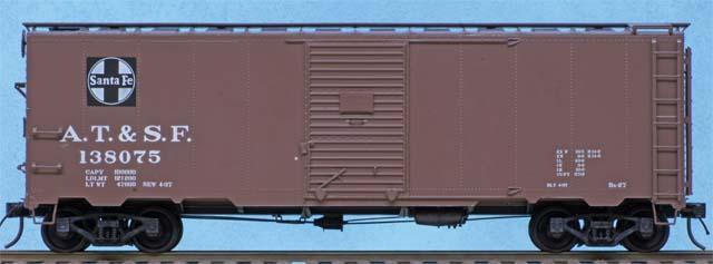 Atchson, Topeka & Santa Fe boxcar