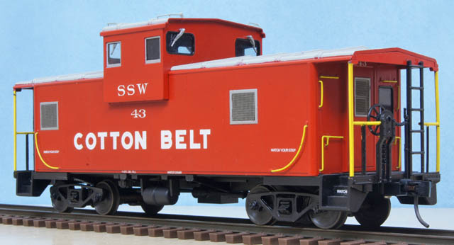 Cotton Belt Caboose