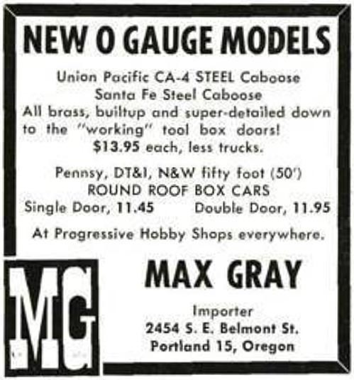 MR誌1956年11月号p73MG広告